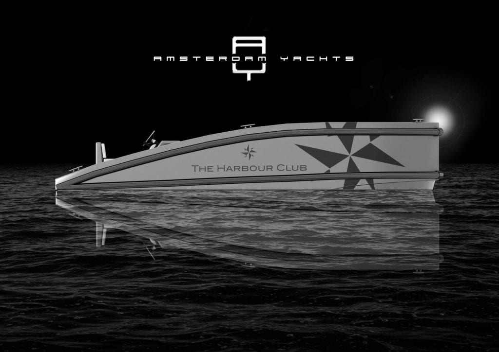 New AY 550 and 800 tenders built by Hendricks Yachting